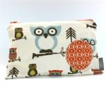 BABY by Danish - Earthy Owls Wipes Bag